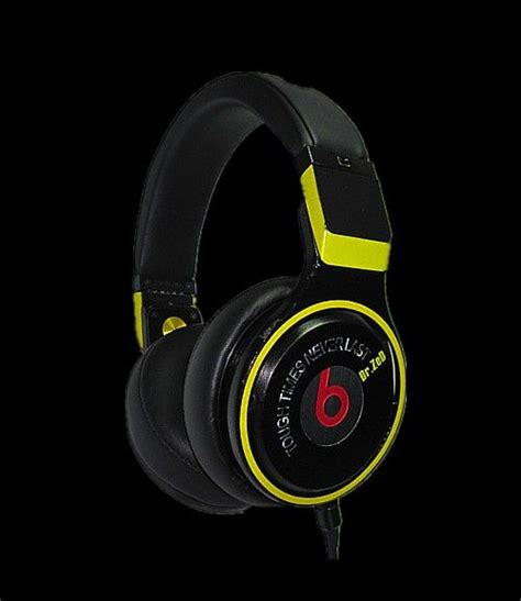 Black Detox Beats by Beats By Dre Pro Detox Headphones Black Yellow