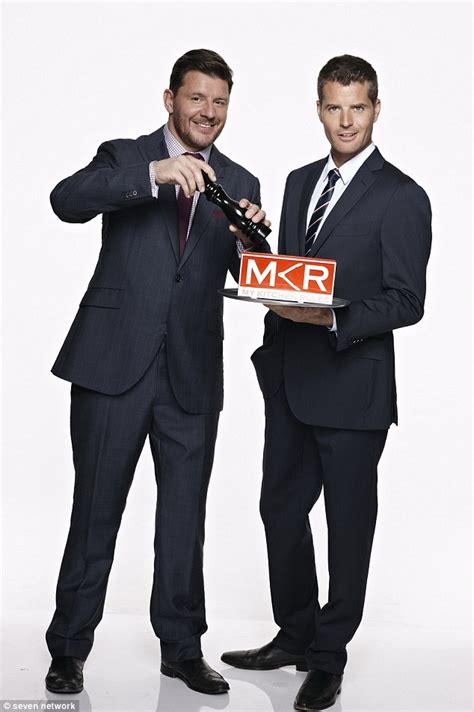my kitchen rules knives channel seven launch their 2015 lineup with my kitchen