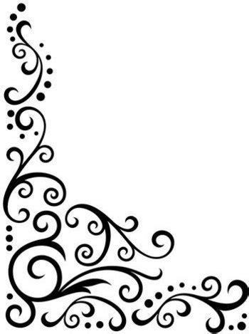 corner template designs darice embossing folder scroll flourish corner