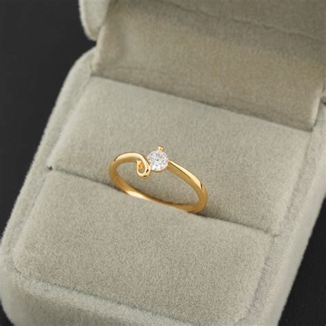simple gold engagement ring designs 2015 aliexpress buy 2015 new design rings brand simple