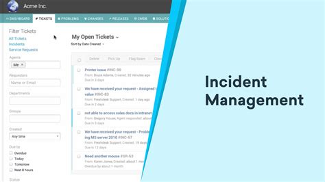 itil incident management policy template image collections