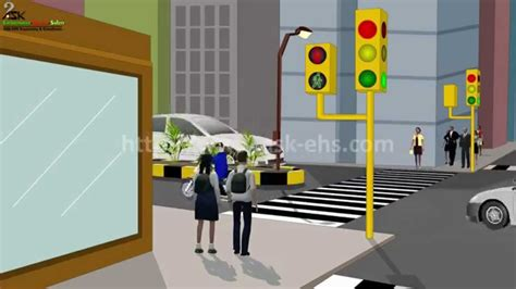road safety awareness video animation for children youtube