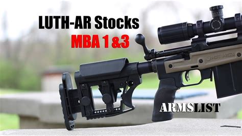 Luth Ar Mba 1 Cyber by Luth Ar Mba 1 3 Stocks Magpul Prs Alternative
