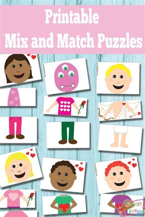 Printable Matching Puzzle Games   1000 images about free printables for kids on pinterest