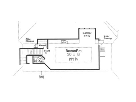 ranch house plans with bonus room appleby european ranch home plan 036d 0199 house plans
