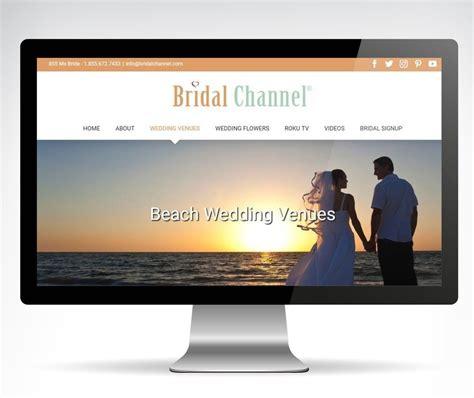Wedding Channel Website by Wedding Services Website Design Orange County Web Design Ca