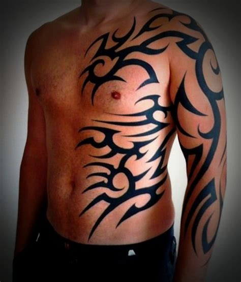 tattoo body tribal 50 tribal tattoos for men inspirationseek com