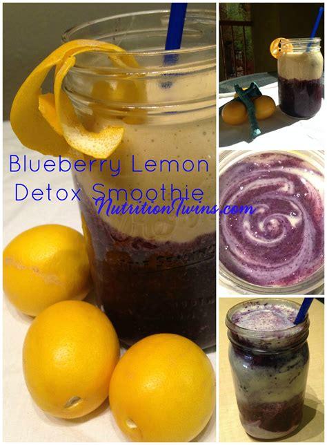 Blueberry Banana Detox Smoothie by Blueberry Lemon Morning Detox Smoothie Nutrition