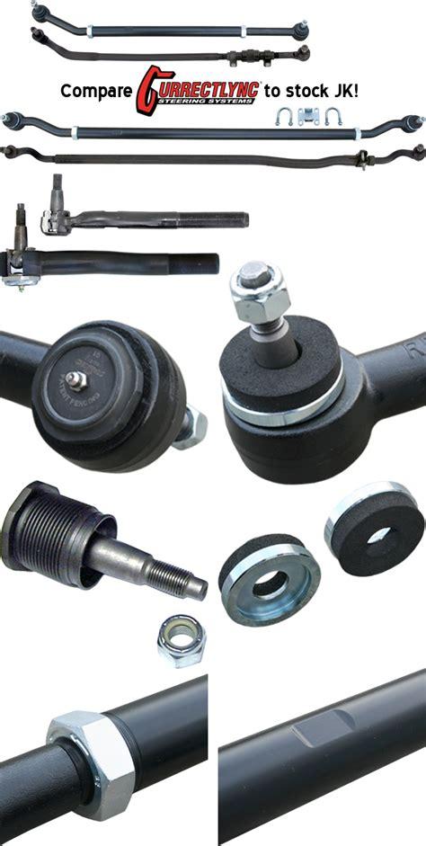 Drag Link Tie Rod Suzuki Futura currie currectlync tie rod drag link steering system jk