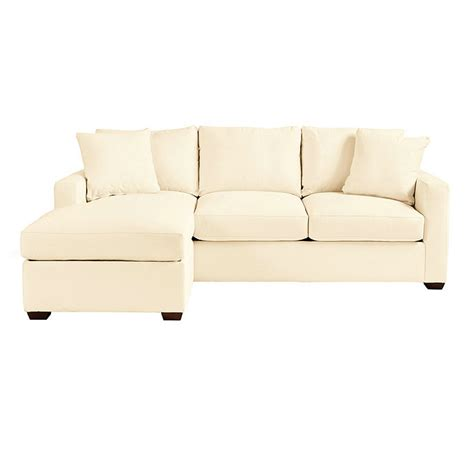 hton leather reversible sectional and storage ottoman orson reversible sleeper sectional ballard designs