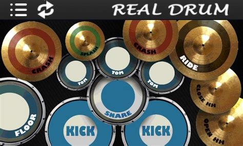 tutorial main real drum android real drum android
