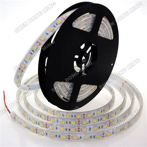 Led 5 Meter 5m silicon injection rgb led ip68 5050 smd