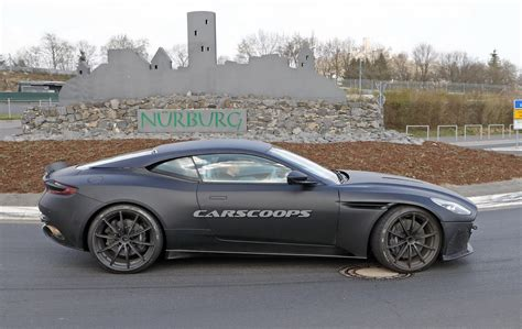 aston martin db11 hotter aston martin db11 with more aggressive front spied