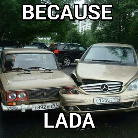russian car meme driving a normal car is just en memegen