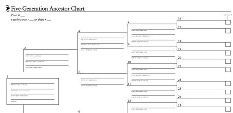 ancestor tree template 106 best images about free genealogy forms on