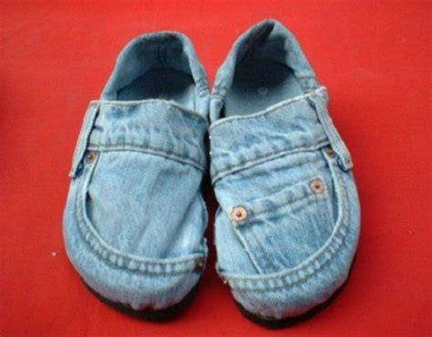 diy denim shoes diy slippers made from hoofs