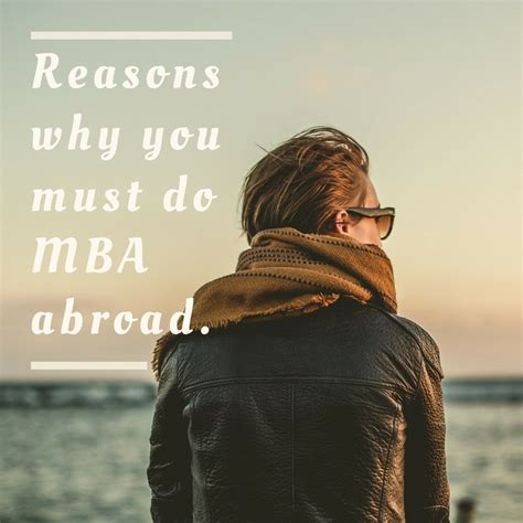 Why Do An Mba Now by Why One Must Do Mba Overseas Shine Consultancy