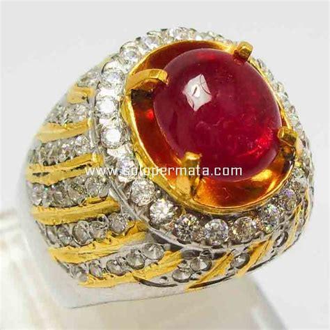 Ruby Afrika Merah Delima pecinta batu akik batu cincin merah delima