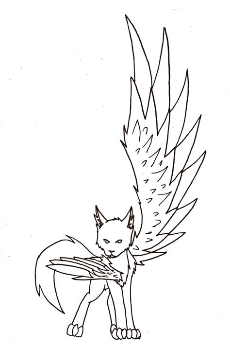 winged cat coloring page warrior cats with wings coloring pages coloring pages
