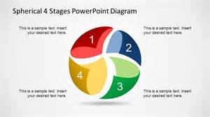 shaped process flow diagram with 8 stages ppt business spherical 4 stages powerpoint diagram slidemodel