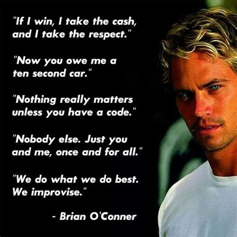 fast and furious jesse quotes paul walkers fast and furious quotes random happiness