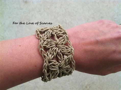 Cool Hemp Knots - crochet pretty bracelets with patterns page 2 of 3