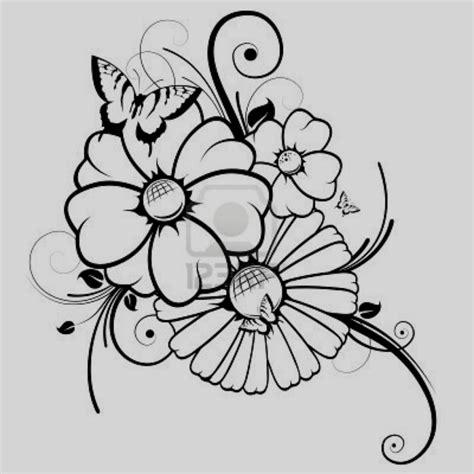 imagenes de uñas flores faciles dibujos de flores para colorear dibujo flor ni os y pintar