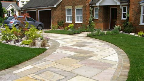 landscaping front garden ideas driveway
