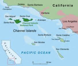 channel islands california map file californian channel islands map en png
