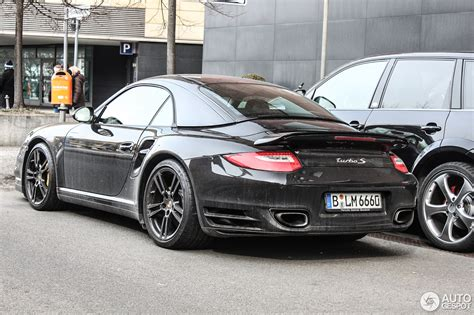 Porsche 997 Turbo by Porsche 997 Turbo S Cabriolet 28 Mrz 2013 Autogespot