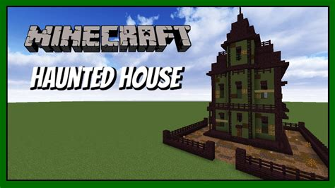 how to make a haunted house in minecraft minecraft how to build haunted house tutorial youtube
