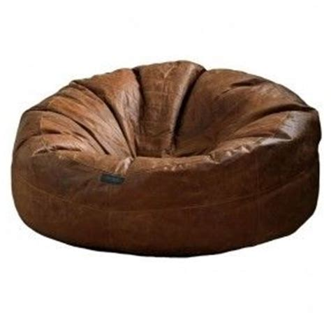 Brown Bean Bag Chair by 25 Best Ideas About Leather Bean Bag On Sofa