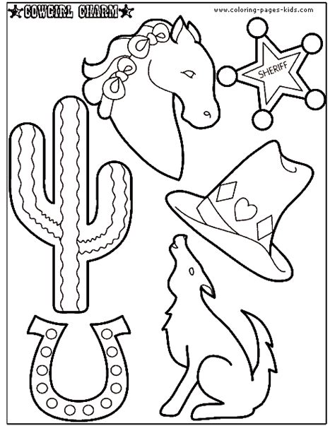 Free Coloring Pages Of Rodeo Vaquero Cowboy Coloring Pages Free