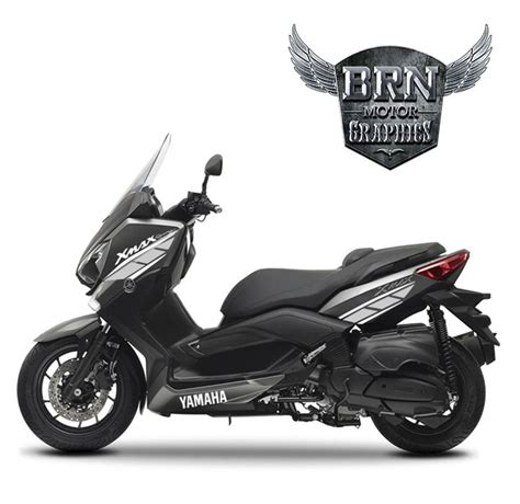 yamaha xmax  sticker seti limited edition brn motor