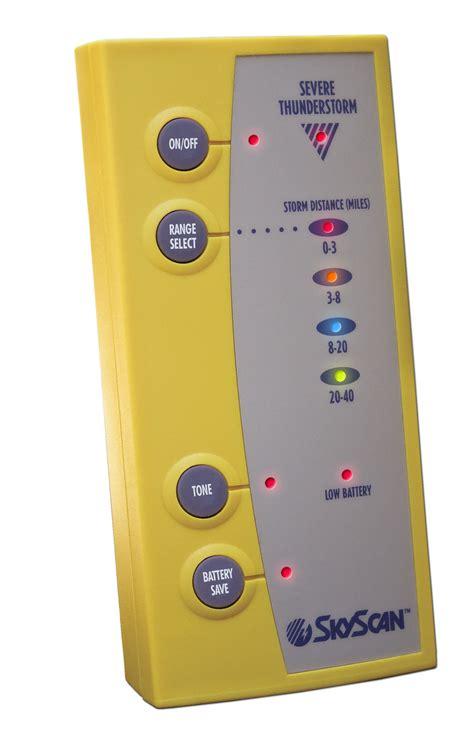 Lighting Detector by Cfa Skyscan P5 Lightning Detector