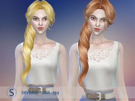 butterfly sims hair sims 4 hair 239 by skysims at butterfly sims 187 sims 4 updates