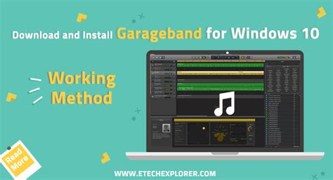 garageband for windows free download garageband for windows 10 download and install garageband