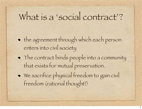 The Social Contract rousseau s social contract