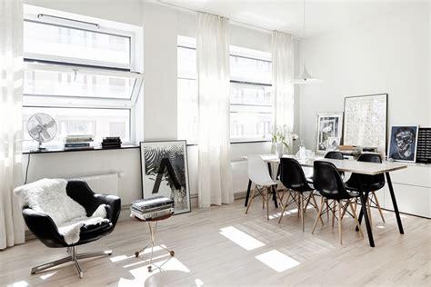 white studio apartments black and white studio apartment nordicdesign