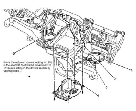 50664 Blend Door Actuator by Ac Blend Door Actuator Located Ac Free Engine Image For