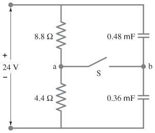 suppose the switch is closed for a time how much energy is stored in the inductor suppose the switch s in the figure is closed what chegg