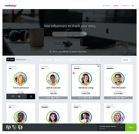 design web application ui mediaplug web application ui ux design angellist