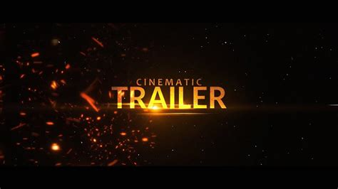 Cinematic Trailer Intro Template 213 Sony Vegas Pro Youtube Sony Vegas Intro Templates
