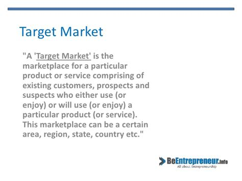 what is the target target market target audience and target