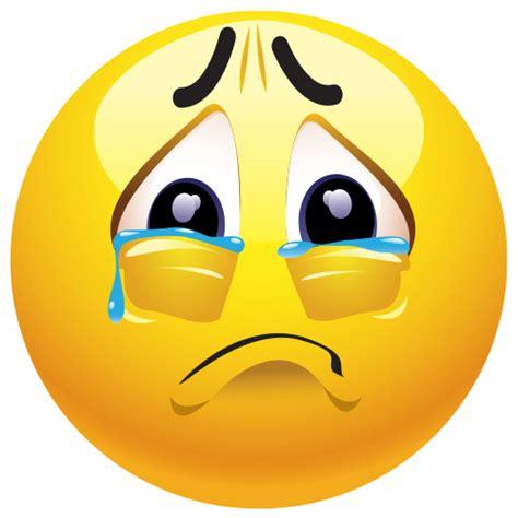 imagenes caras llorando teary eyed emoticono demostrar y sentimientos