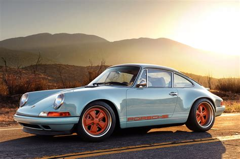 singer porsche blue misc porsche 911 by singer prices reviews and new model