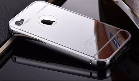 Luxo Iphone 4 Tengkorak capa capinha bumper metal espelhada luxo iphone 4 4s p vidro r 54 99 em mercado livre
