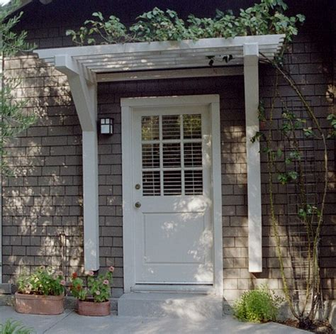 How To Clean An Awning On A House Front Doors Ideas Front Door Pergola 5 Front Door Pergola