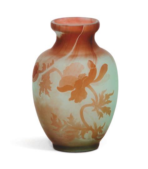 vasi galle emile gall 233 nancy 1846 1904 vaso in vetro verde e