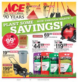 ace hardware flyer march ace hardware flyer
